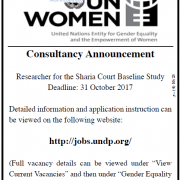 Palestine Polytechnic University (PPU) - Consultancy Announcement - UN Women
