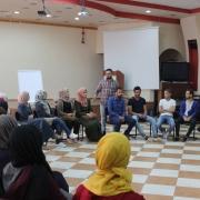 Palestine Polytechnic University (PPU) - تدريبات تميز الخليل في جامعة بوليتكنك فلسطين حول القيم الشخصية، إحترام الذات، إحترام الأخرين مع المدرب أحمد ديرية