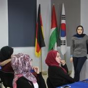 """Palestine Polytechnic University (PPU) - فريق تميز الخليل في جامعة بوليتكنك فلسطين ينظم جولة في المركز الكوري الفلسطيني في الخليل بالإضافة الى ورشة عمل """" العمل عن بعد """" من خلال شركة """" Mena alliances """"."""