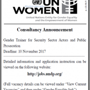 Palestine Polytechnic University (PPU) - Consultancy Announcement - UN Women