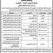 Palestine Polytechnic University (PPU) - وظائف شاغرة - جامعة فلسطين التقنية