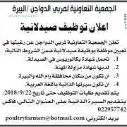 Palestine Polytechnic University (PPU) - صيدلانية - الجمعية التعاونية لمربي الدواجن